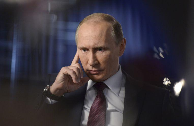 Russische president Vladimir Poetin. Beeld REUTERS