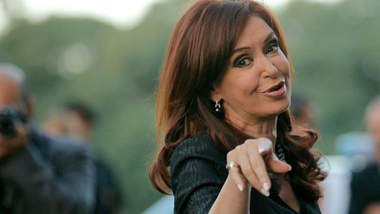 Christina Fernández de Kirchner Beeld REUTERS