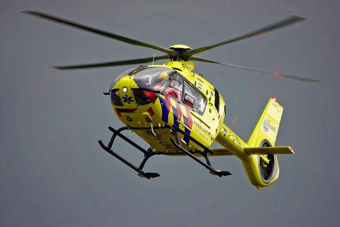 De hulpdiensten kwamen voor de gewonde in Valkenswaard.