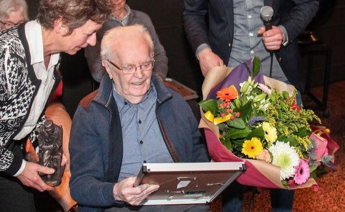 Antoon van der Stappen in 2019, bij zijn benoeming tot erelid van de ZLTO-afdeling Bernheze.