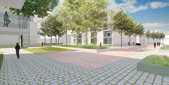 Het meest actuele plan voor de Oosterhoutse binnenstad: de herinrichting van Arendshof 2 en Arendsplein.