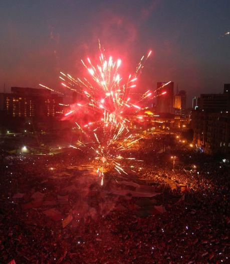 Tahrir exulte après la victoire de Morsi à la présidence