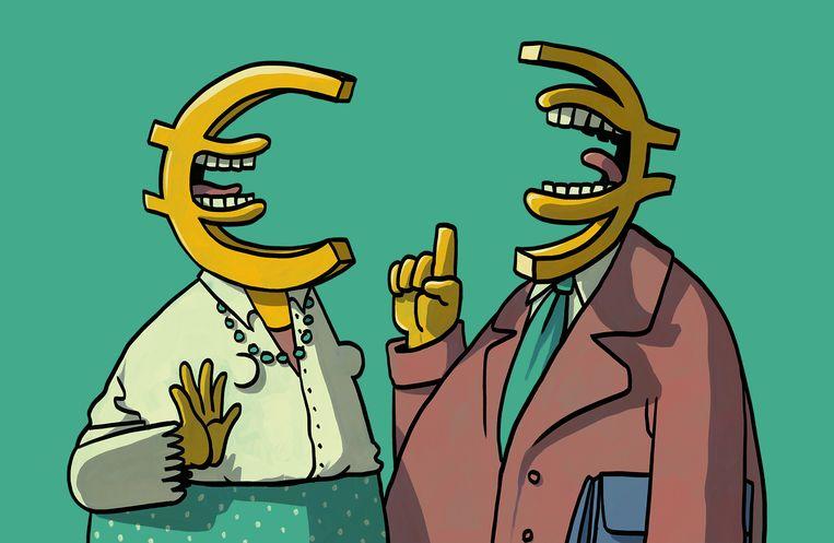 Praten over je salaris met collega's: wat levert het op? Beeld Matteo Bal