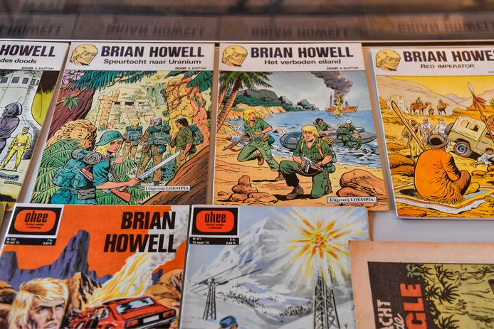 Van stripheld Brian Howell kwamen zes albums uit.