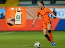 Merel van Dongen over het EK: 'We gaan de wedstrijden met het hele team kijken'