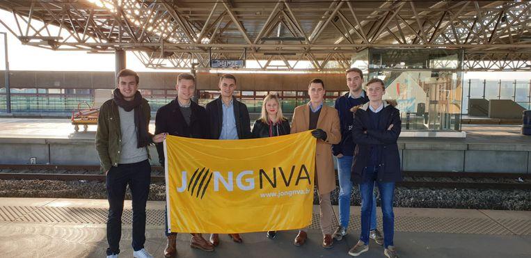 Het bestuur van Jong N-VA Deinze-Nevele.