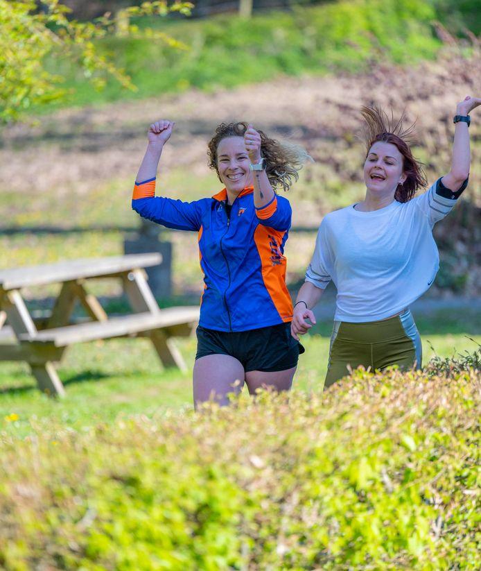 1.500 personen namen deel aan de Hoeseltse Kluis Run.