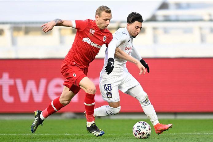L'Antwerp et Anderlecht sont en pole position pour une place en playoffs 1.