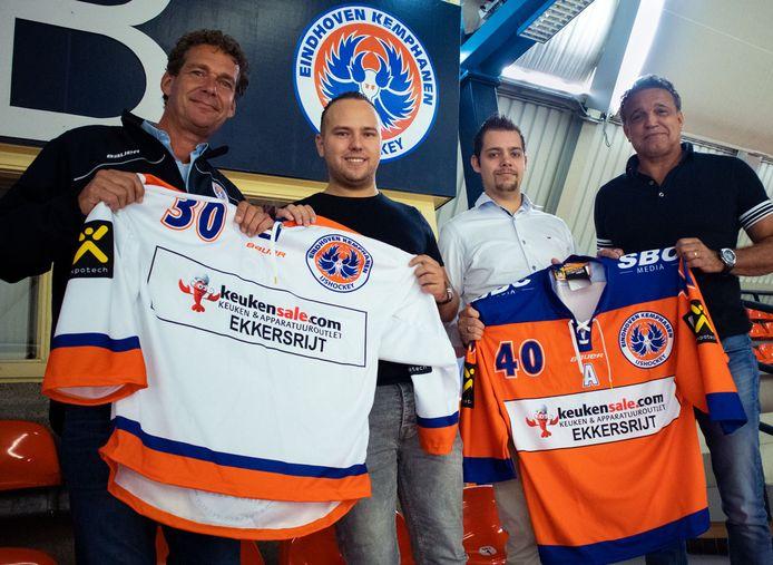 Tom van Doorne (links) en Nico van Galen Last (rechts) blikken terug op het vorige seizoen en kijken naar de toekomst van Eindhoven Kemphanen.
