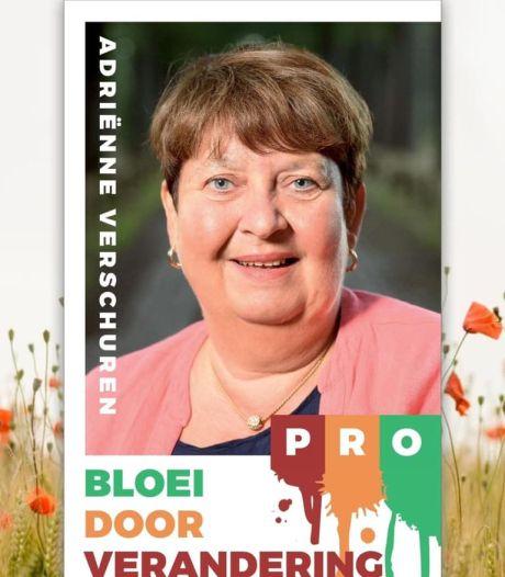 Zetel van Adrienne Verschuren blijft leeg wanneer donderdag de nieuwe raad van Oisterwijk alsnog aantreedt