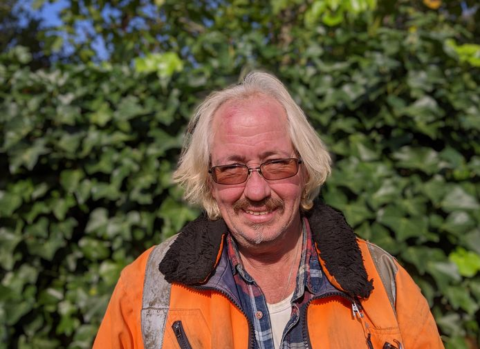 Cor Michielsen, groenwerker in Zevenbergen