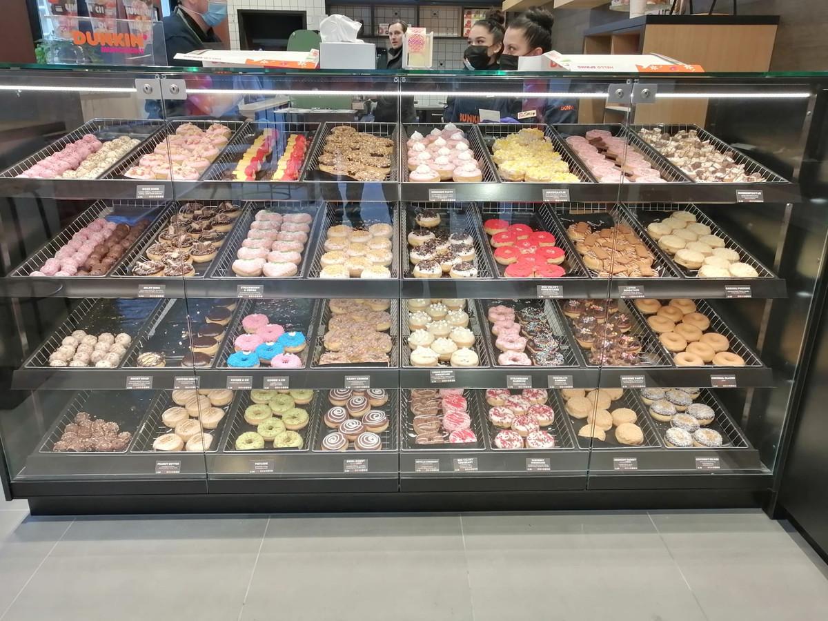 Dunkin' Donuts à Gand.