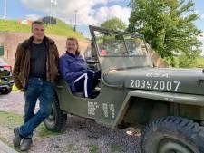 De oude oorlogsjeep van Erik en Sandra gaat nog gewoon mee naar de Ardennen of Normandië