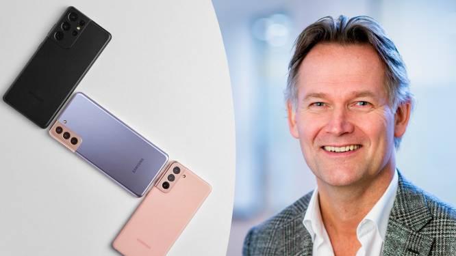 """INTERVIEW. Topman Samsung: """"We willen in 2021 plooibare smartphones mainstream maken"""""""