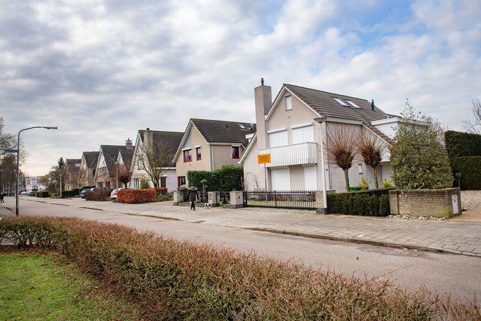 De woning van Danny M. aan de Hegdambroek in Nijmegen.