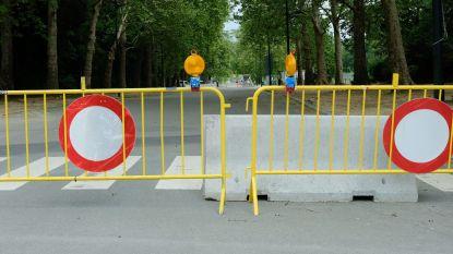 Wegen door Park van Laken worden definitief afgesloten