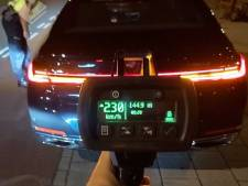 Automobilist scheurt met 230 kilometer per uur over de A4 bij Den Hoorn
