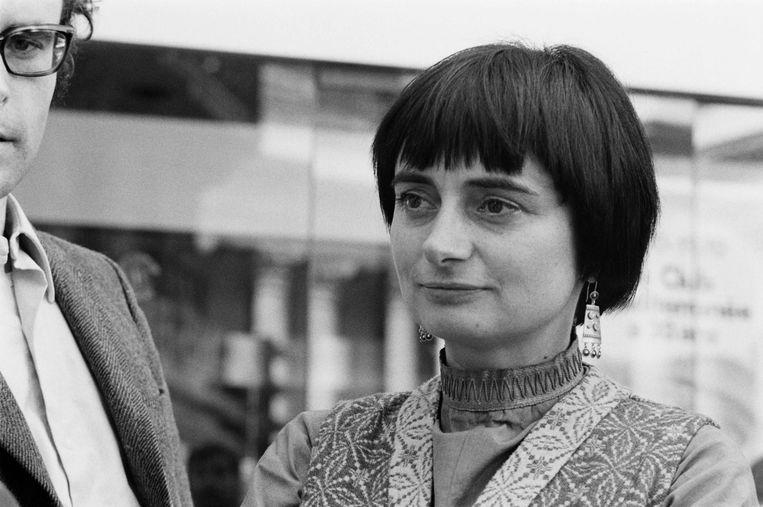 Agnes Varda in 1970.  Beeld null