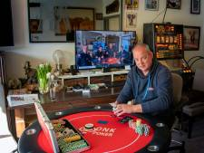 Johan Huisman uit Harderwijk heeft even niets aan zijn pokerface: 'Ik zou dolgraag weer live willen pokeren'