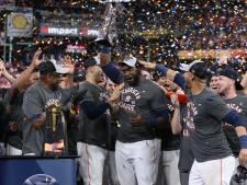 Astros voor derde keer in vijf jaar naar World Series