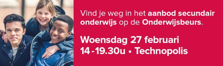 Flyer voor de Onderwijsbeurs