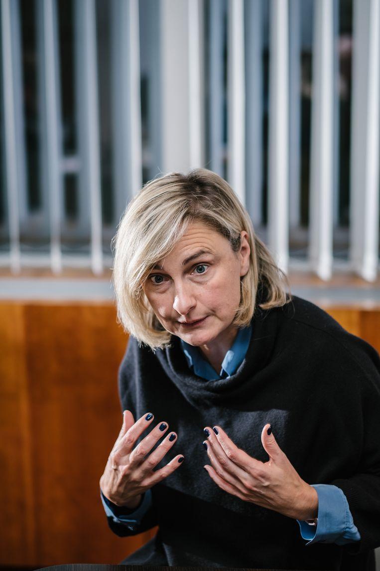 Vlaams minister van Onderwijs Hilde Crevits. Beeld Wouter Van Vooren
