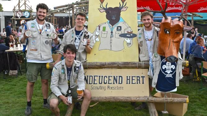Roeselaarse scouts lanceren met Ondeugend Hert hun eigen bier