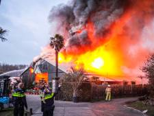 Gerben en Monique zien levenswerk in Giethmen in vlammen opgaan: 'Een nachtmerrie'