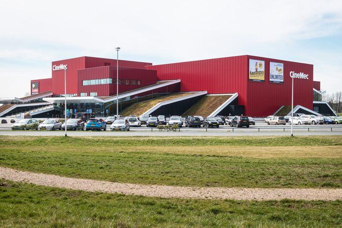 Pathé Nijmegen, voorheen CineMec. Archieffoto