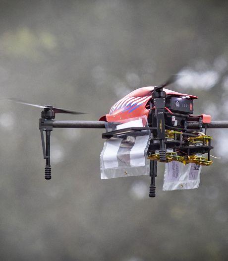 Plan voor dronenetwerk: binnen 2 minuten bij brand, inbraak of ongeval in heel Twente