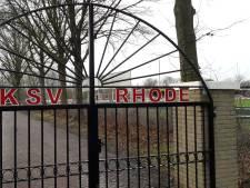Zorgen over renovatie sportpark Rhode blijven