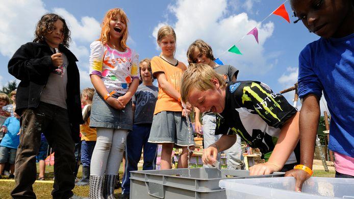 Archieffoto: Kindervakantiekamp BouwBurg in Velp