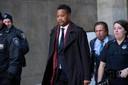 Cuba Gooding Jr. eerder dit jaar bij de rechtbank in New York.