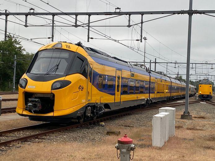 De nieuwe intercity die sneller kan rijden.