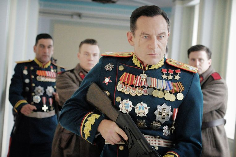 Jason Isaacs in 'The Death of Stalin'. Beeld
