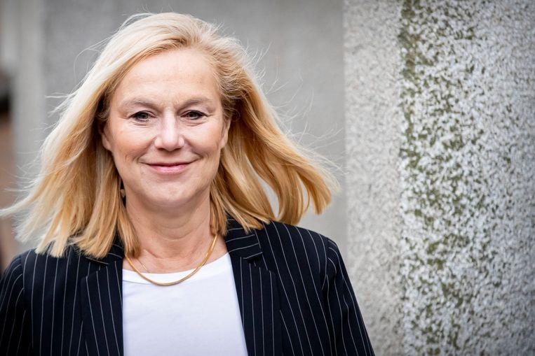 D66-leider Sigrid Kaag. Beeld Photo News