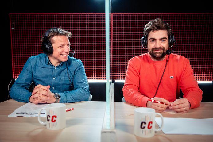Wesley Sonck en Pedro Elias presenteren De Container Cup.