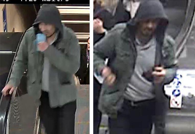 De politie verspreidde foto's van een verdachte die met de aanslag in verband wordt gebracht. Beeld epa