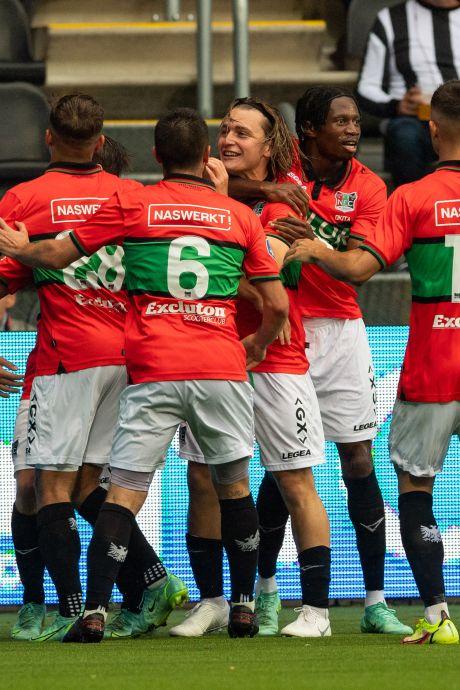 NEC boekt tegen tiental Heracles tweede zege op rij door goal van Akman