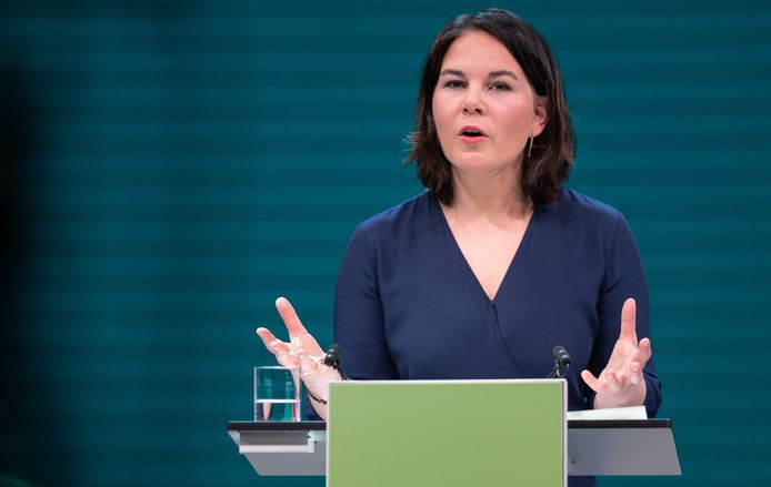 Annalena Baerbock wordt de groene Duitse kanselierskandidaat.