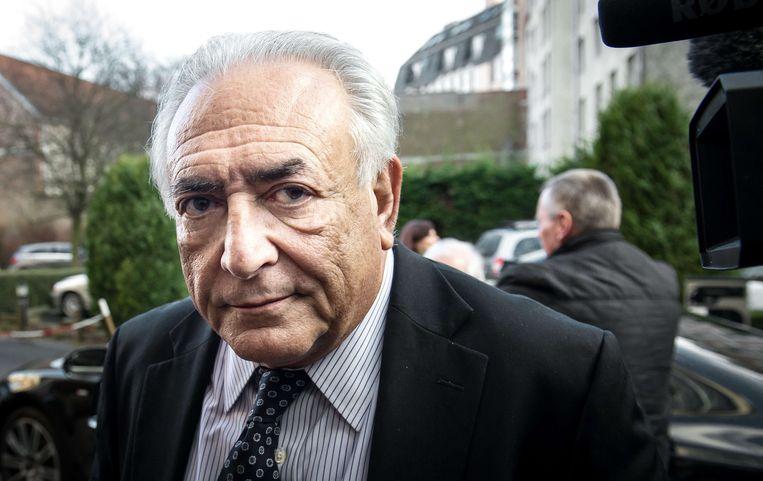 Voormalig Frans presidentskandidaat Dominique Strauss-Kahn in 2015. Beeld AFP