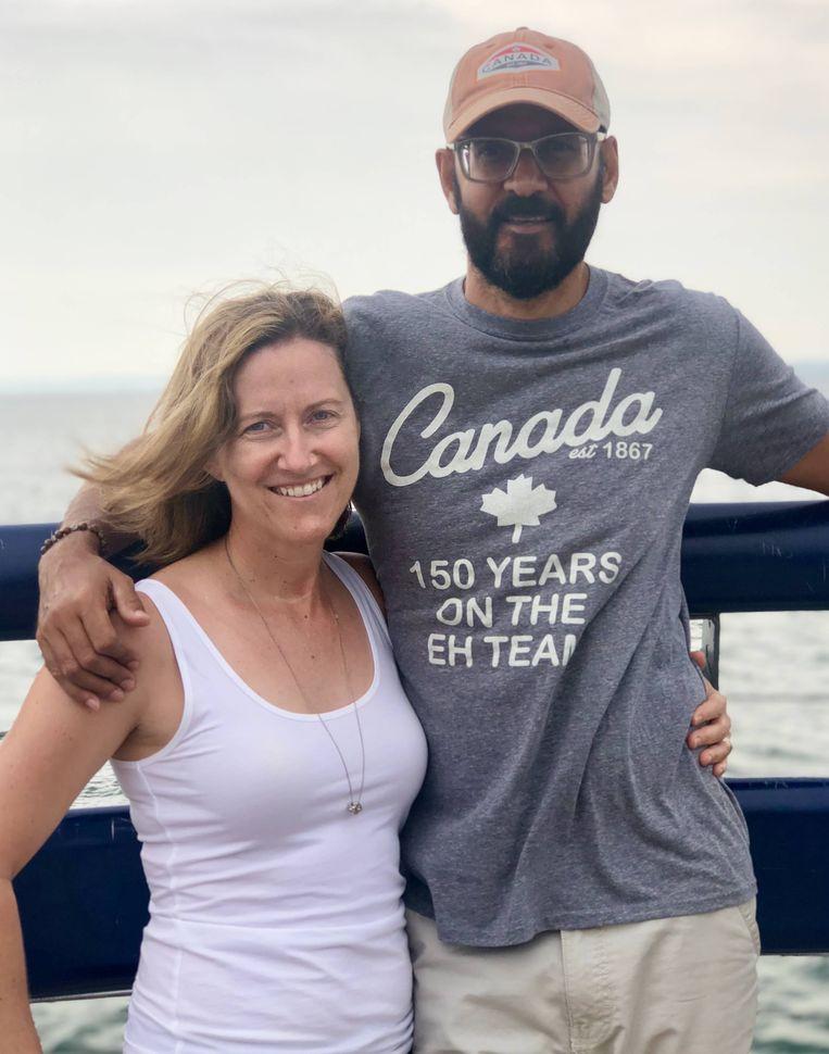 Neil Bantleman en en zijn echtgenote Tracy. Beeld