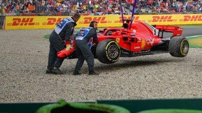 Vettel ziet Hockenheim-droom in rook opgaan en Hamilton zegevieren in GP van Duitsland, Brit pakt WK-leiding na straffe inhaalrace