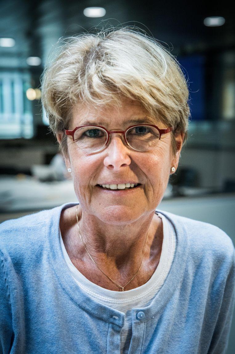 Professor Moleculaire Biologie Catherine Derom. Beeld Wannes Nimmegeers