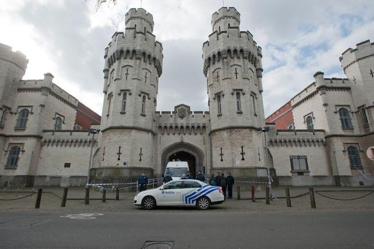 La prison de Saint-Gilles (illustration)