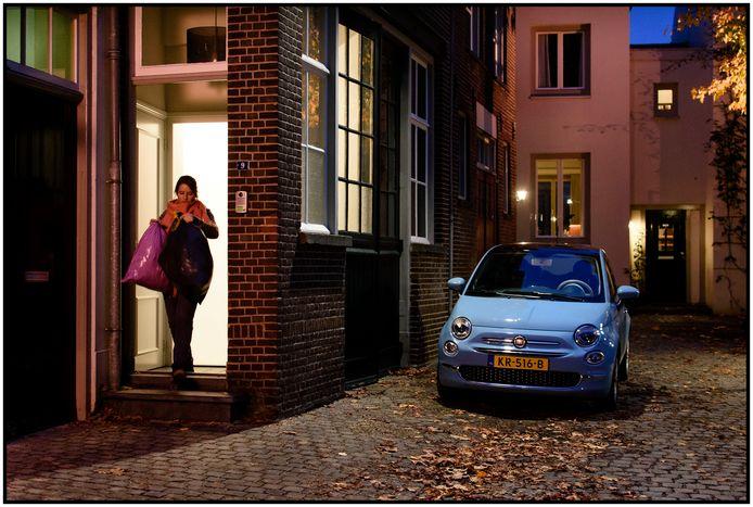 Beelden uit de film Zwaar Verliefd! die in Den Bosch is opgenomen