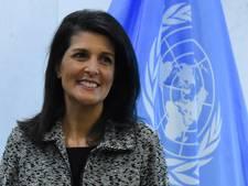 VN-ambassadeur Haley: prioriteit VS in Syrië is niet langer Assad