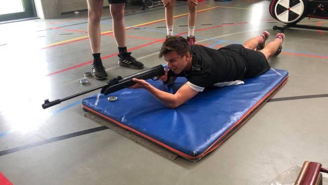 Leerlingen leven zich uit tijdens Campus De Vesten Cup