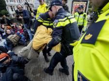 Blokkade klimaatactivisten loopt ten einde