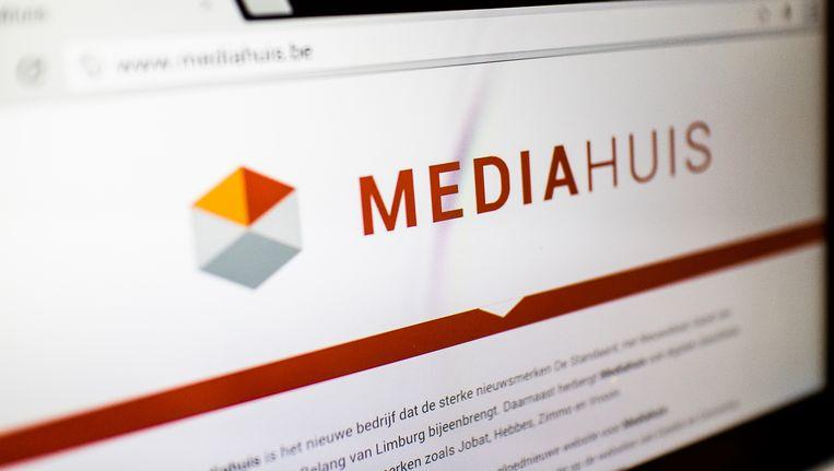 Mediahuis is het bedrijf boven onder meer de kranten De Standaard en Gazet van Antwerpen. Beeld BELGA